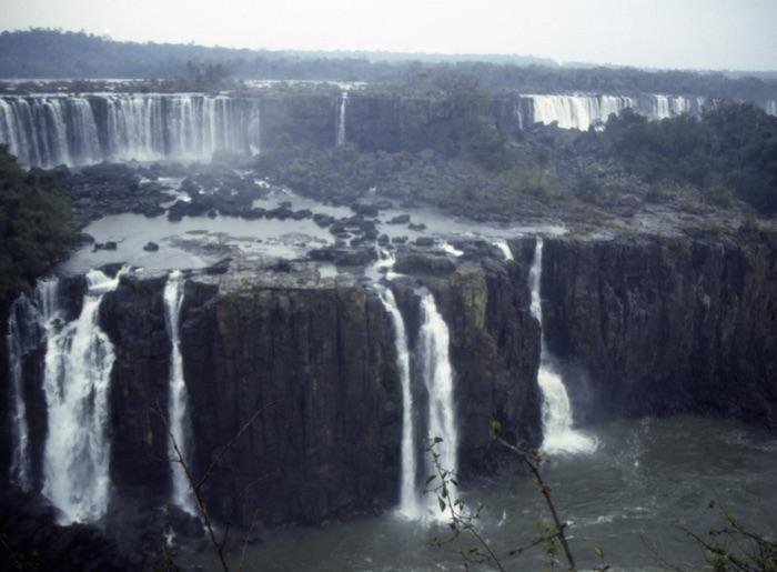 Foz do Iguacu, Brésil, août 1988