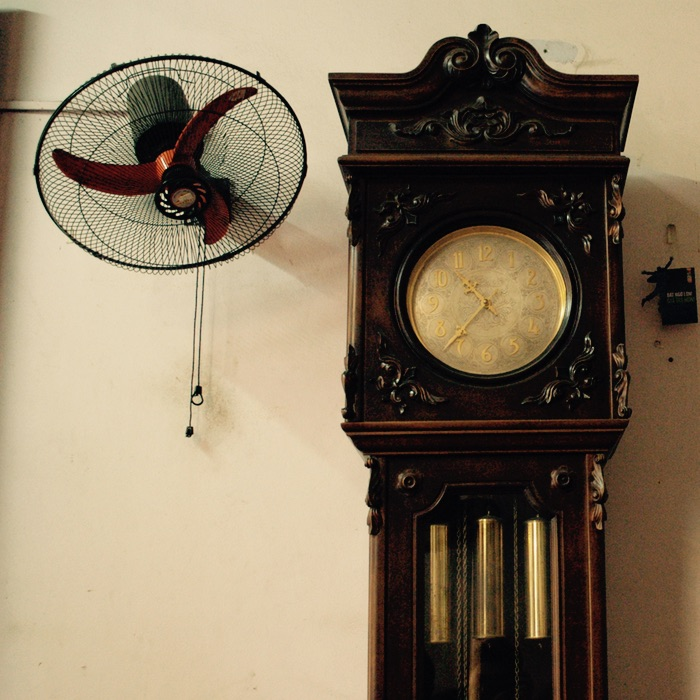ventilateur et horloge