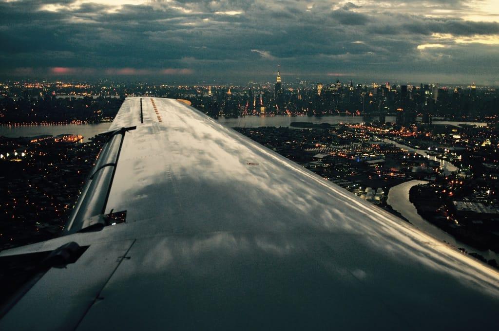 New York vue d'avion