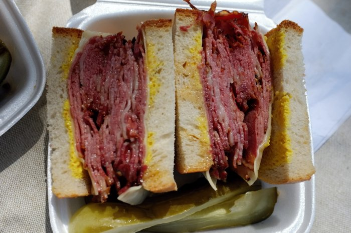 Sandwich de smoked meat