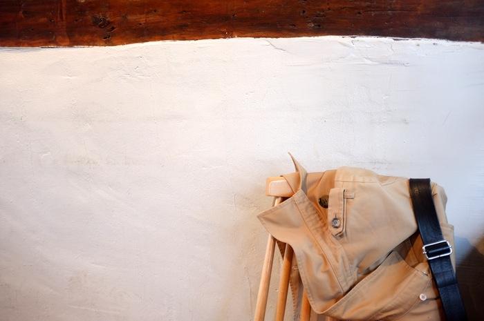Manteau sur une chaise