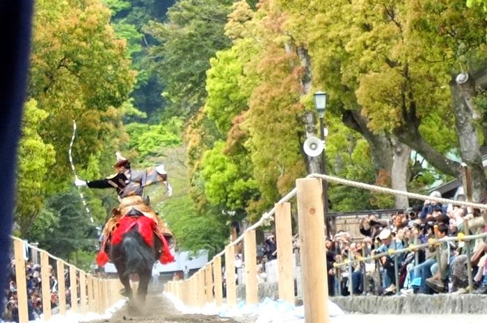 Archer sur un cheval