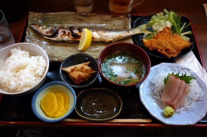 Repas de poisson