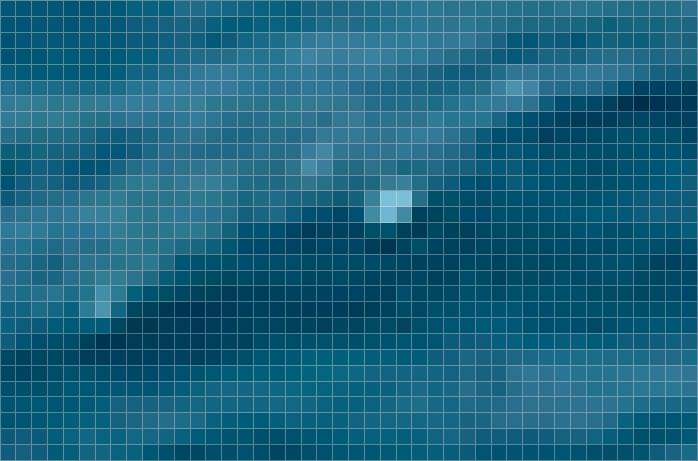 Pixels d'une photographie