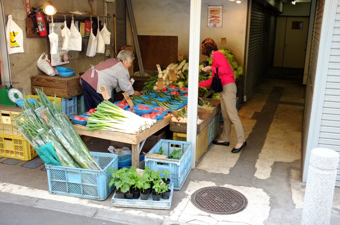 Marchand de légumes