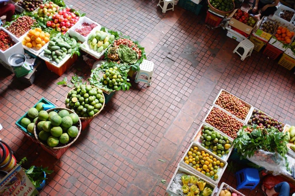 Marché de fruits