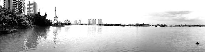 Panorama du fleuve