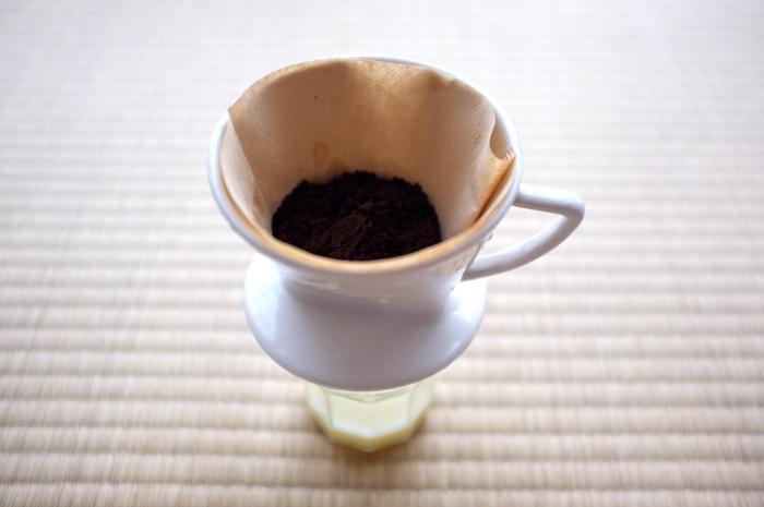Café en cours d'infusion