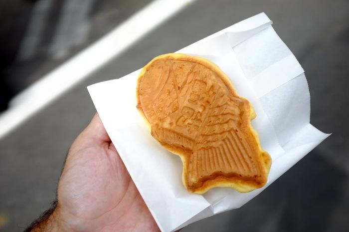 Dessert en forme de poisson