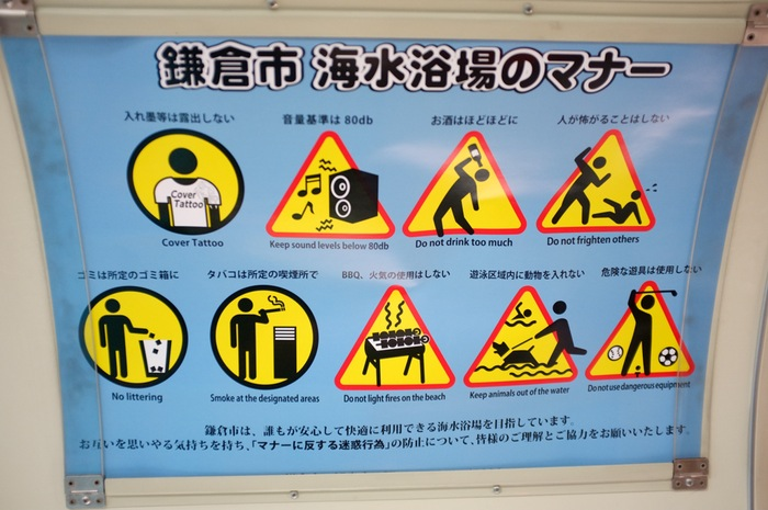 Affiches d'avertissements