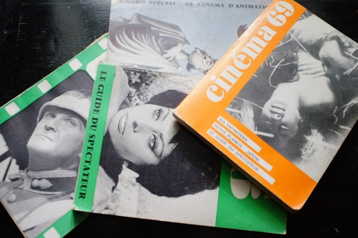 Pile de magazines de cinéma