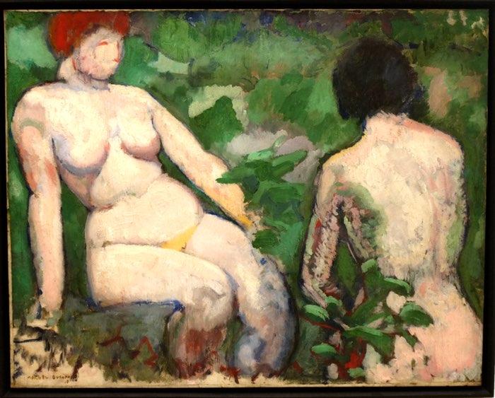 Deux femmes peintes