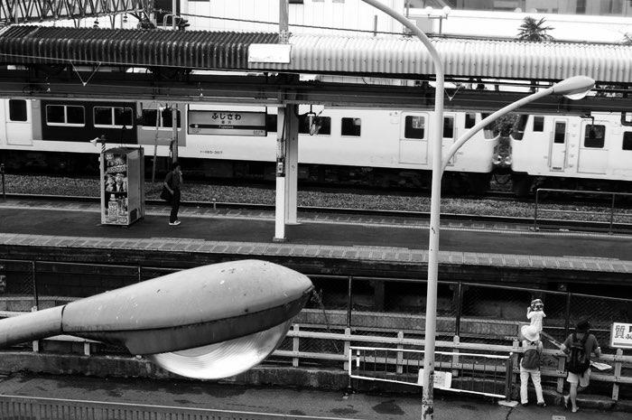Près de la gare vue d'en haut