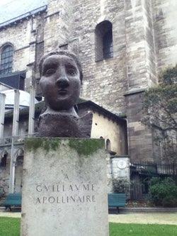 Statue Apollinaire