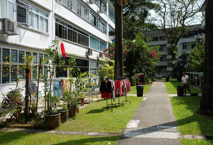 Immeubles et leurs environnements