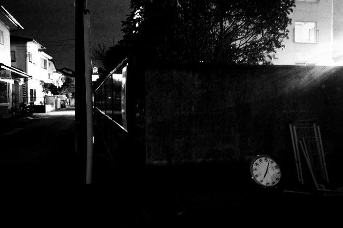 Horloge dans une rue