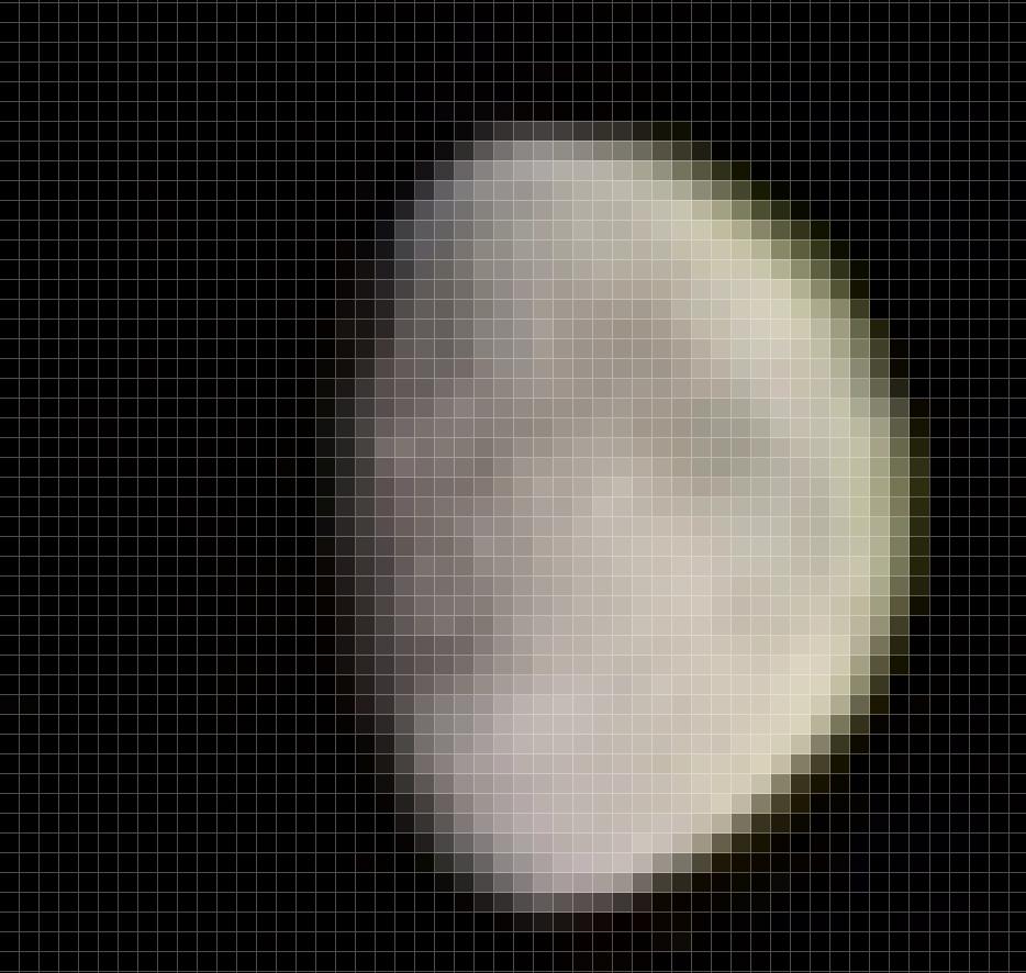 Lune grossit