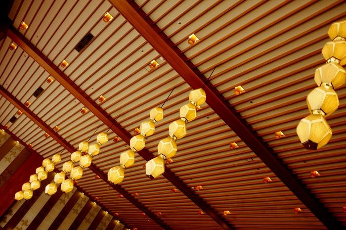 Plafond et lampes