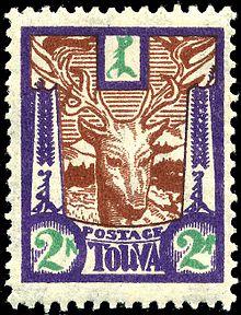 Timbre de Tuva