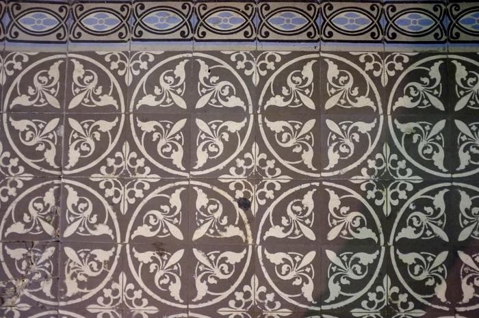 pavés de céramique