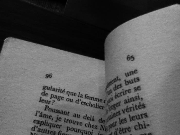 pages de livre et leurs nombres