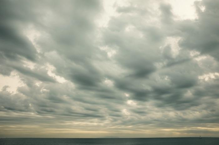 nuages et océan