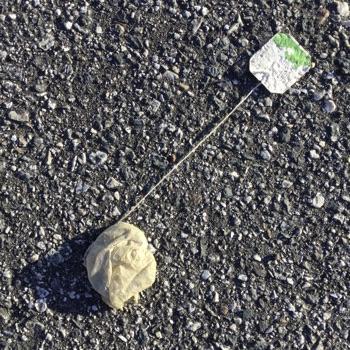 teabag sur le parking
