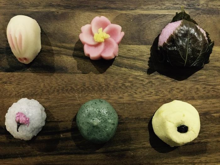 mochi et sucreries