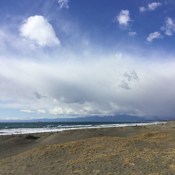 plage ensoleillé