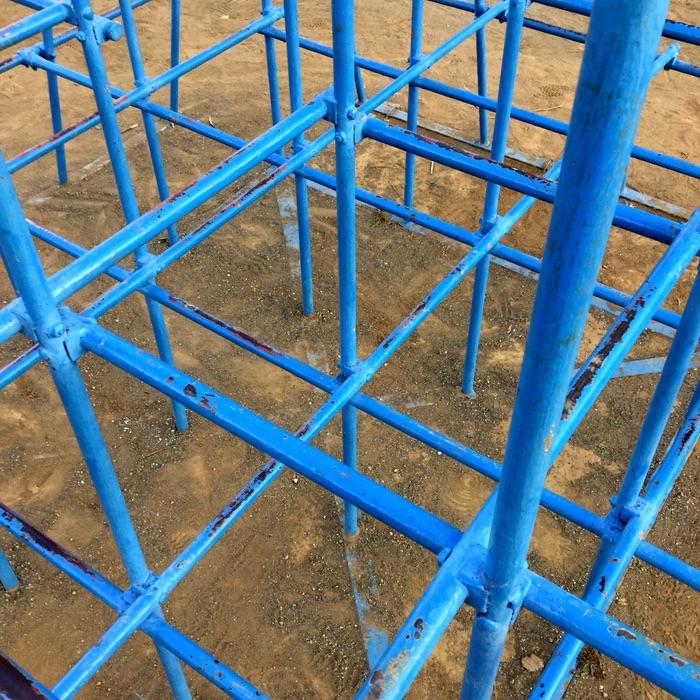 barres de couleur bleue