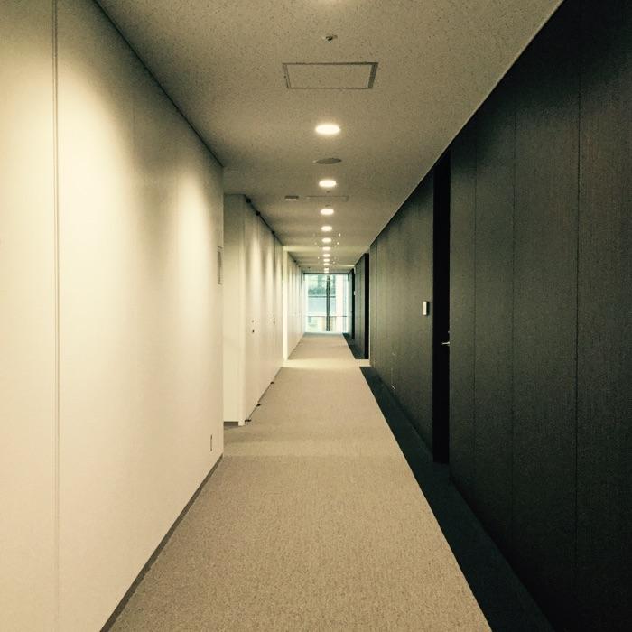 couloir de tour à bureau