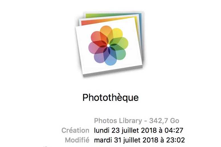 Volume de Photos.app