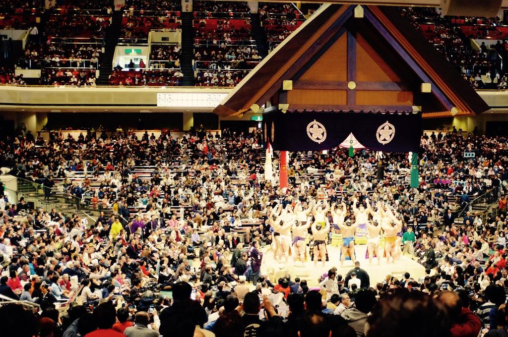 Stade du tournoi de Sumo