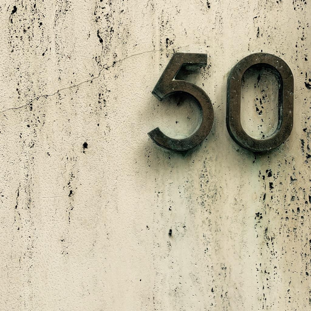 le nombre cinquante