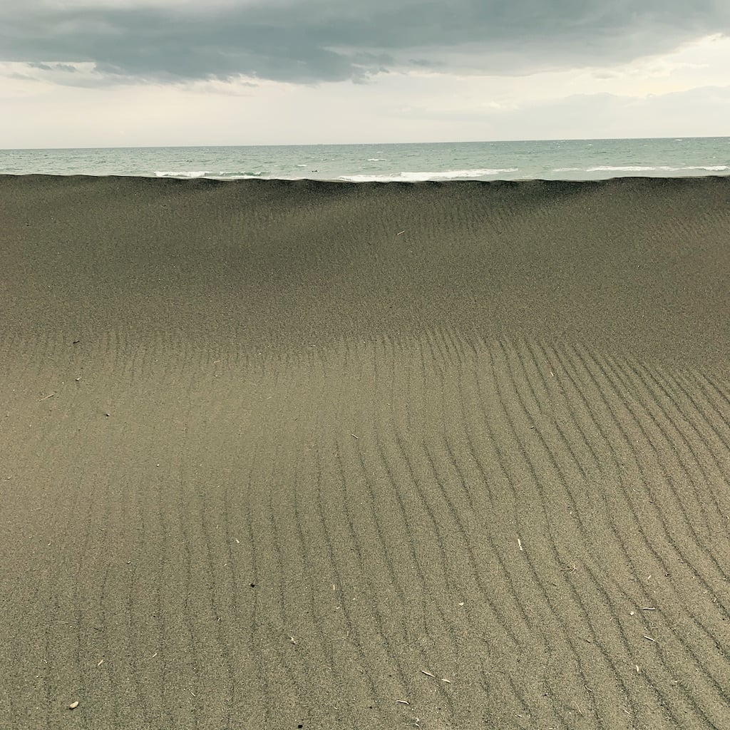 dune de sable proche de l'océan