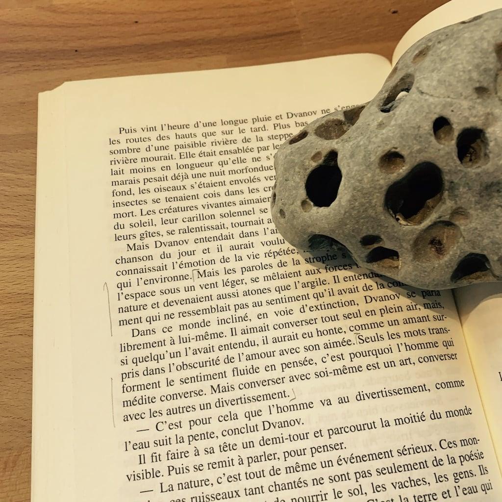 roche sur une page
