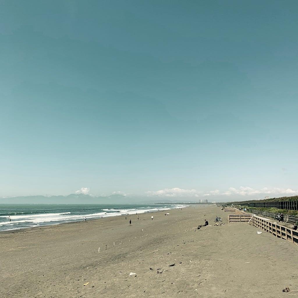 Baie de Sagami et Mont Fuji