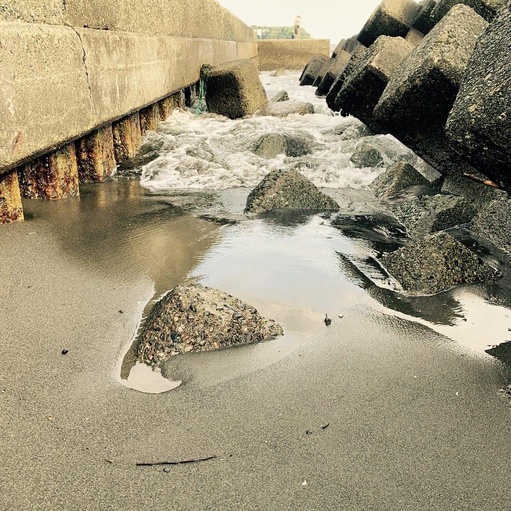 eau de la marée