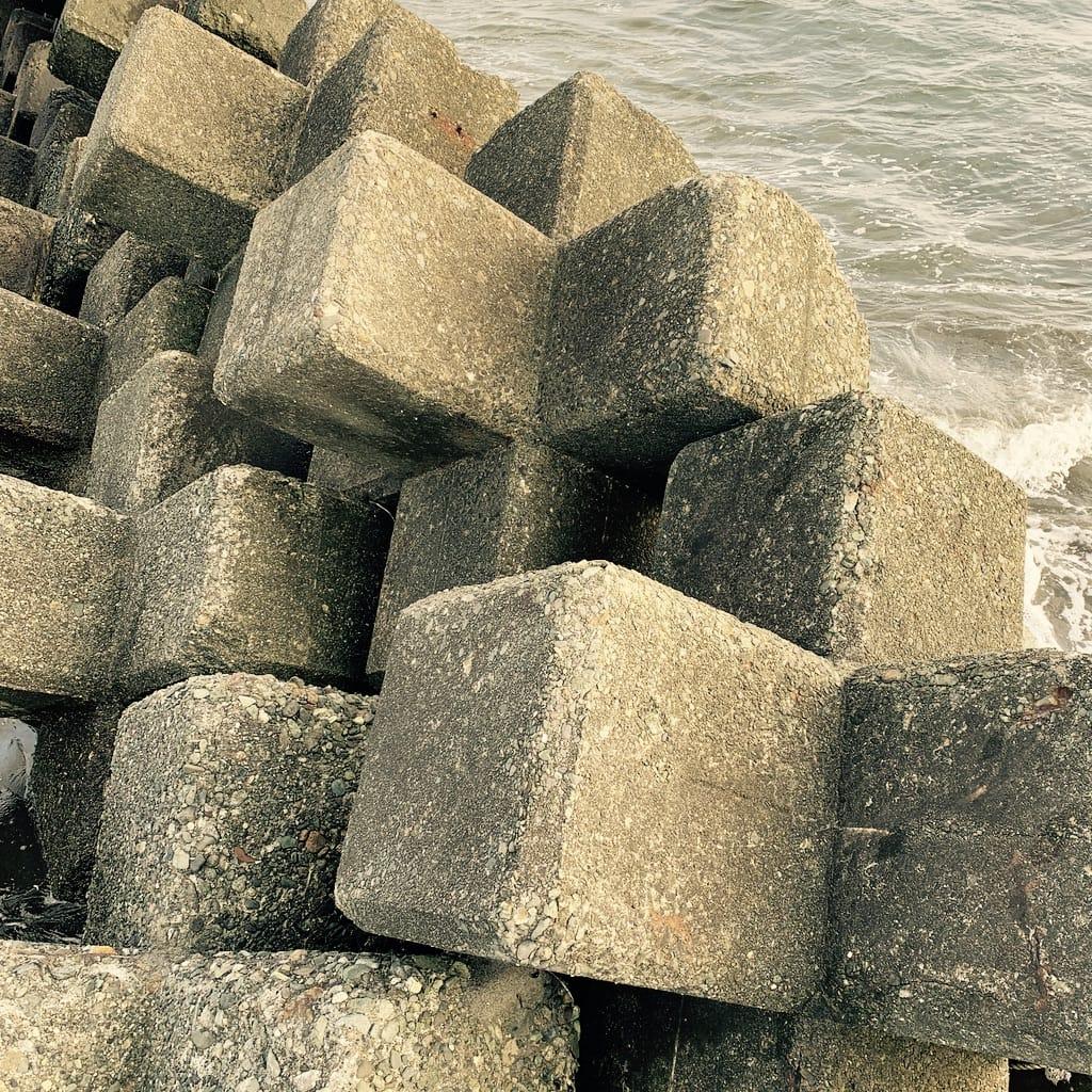 blocs en béton