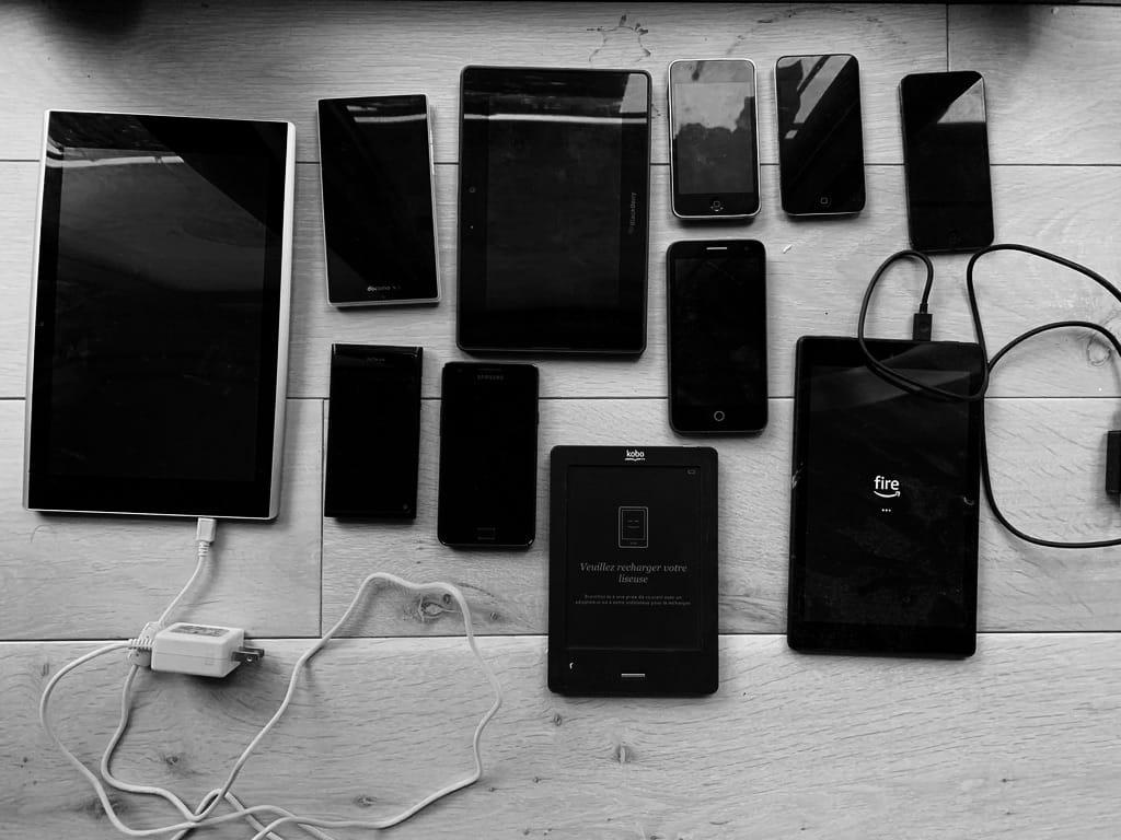 Appareils mobiles