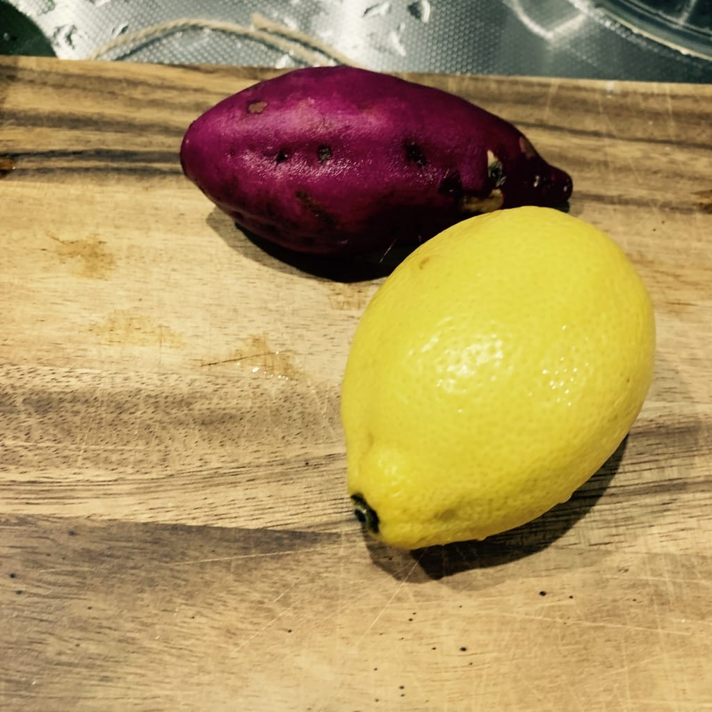 Patate douce et citron