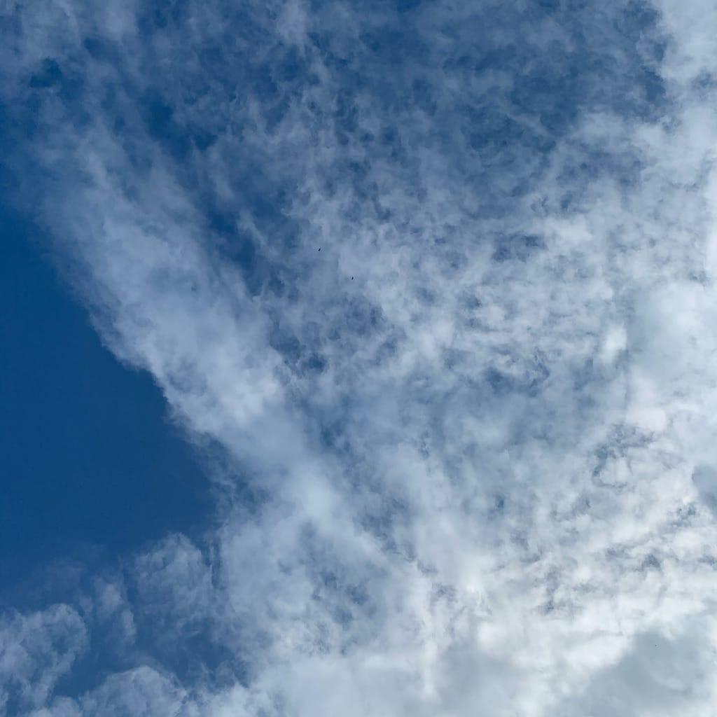 Ciel avec nuage