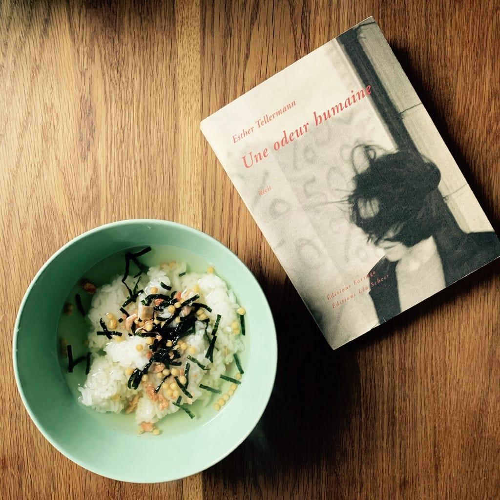 Ochazuke et livre