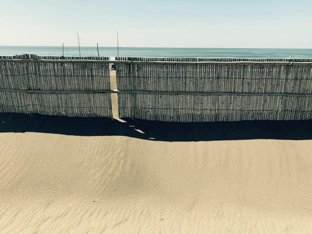 palissade de la plage