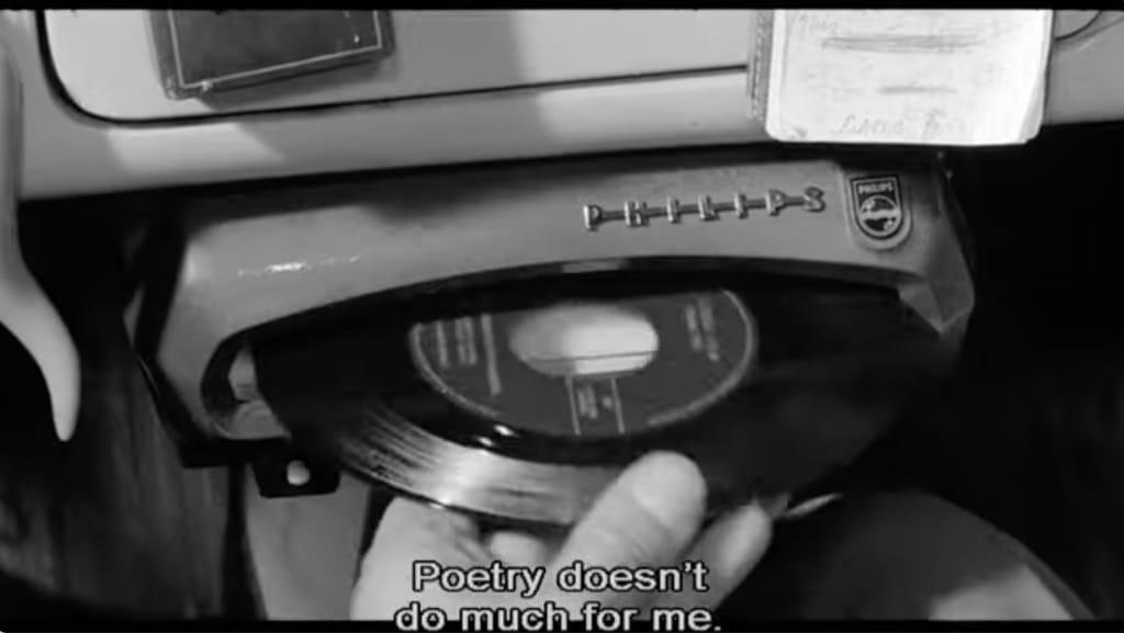 disque 45t dans un mange disque